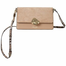 Rumour London - Akiko Kimono-Style Silk Wrap Dress With Oriental Print In Yellow