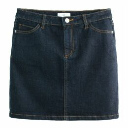 Denim Short Straight Skirt