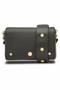 Burberry Hackberry Leather Shoulder Bag