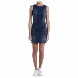 Cerena SDM Straight Sleeveless Midi Dress