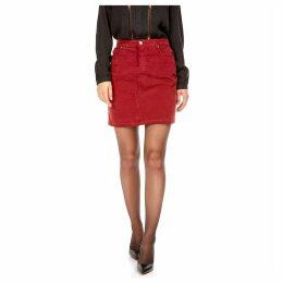 Short Velvet Skirt
