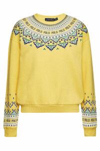 Polo Ralph Lauren Printed Cotton Sweatshirt