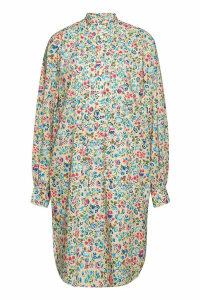Polo Ralph Lauren Printed Cotton Mini Dress
