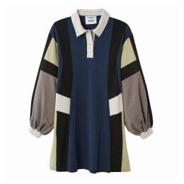 Oversize Polo Dress