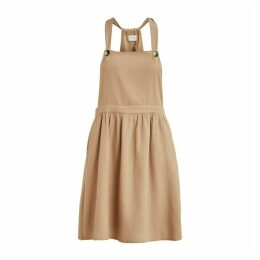 Vikaluna Cotton Dungaree Dress