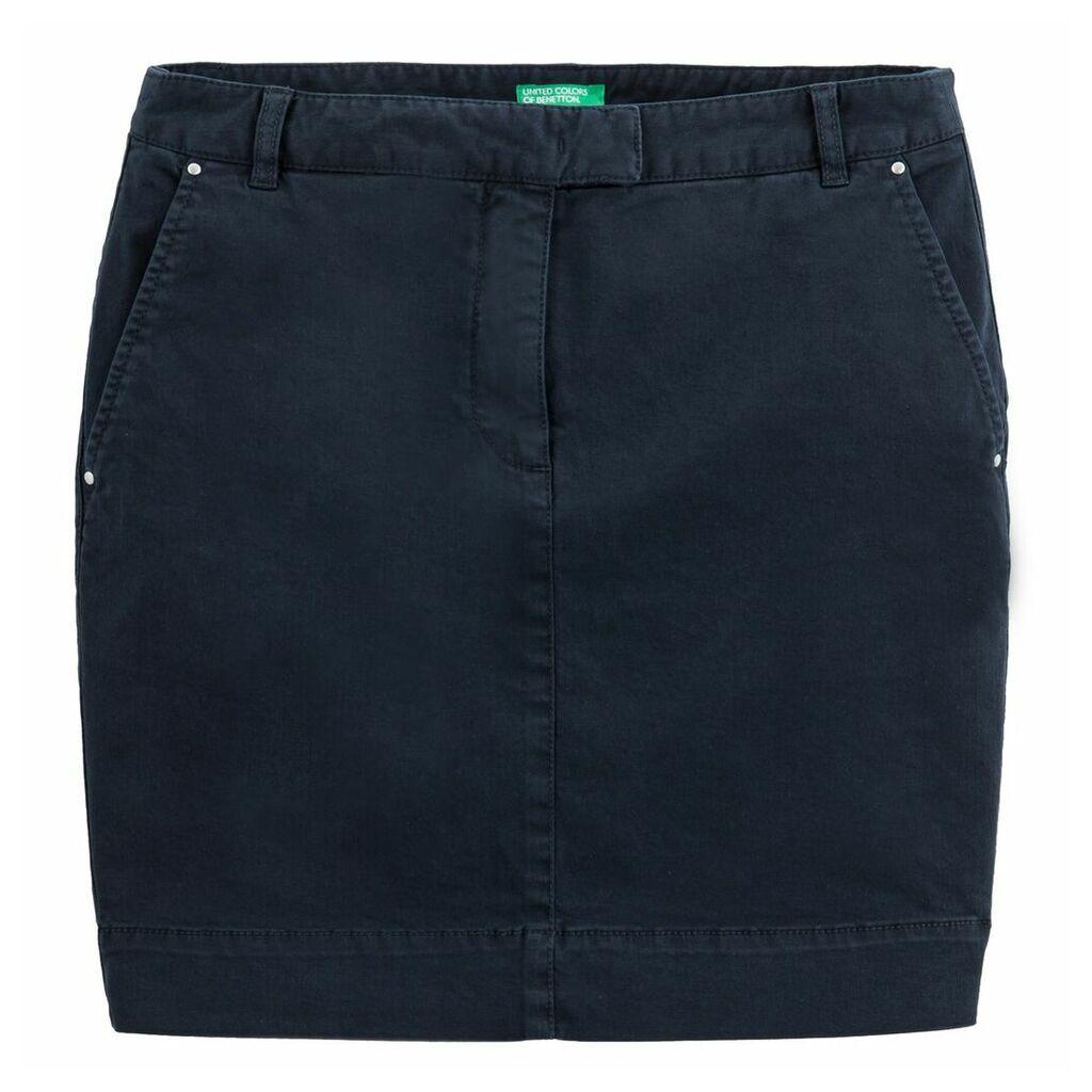 Two-Pocket Short Skirt