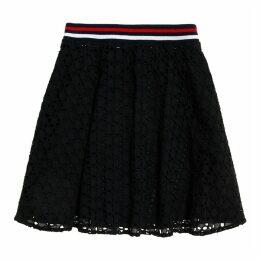 Teagan Schiffli Broderie Anglaise Skirt