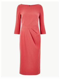 M&S Collection Seam Detail Midi Tailored Fit Dress
