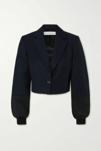 Emilia Wickstead - + The Woolmark Company Belted Two-tone Pleated Merino Wool Midi Skirt - Pink