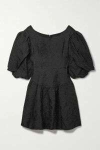 Honorine - Jill Pleated Linen Mini Dress - Yellow