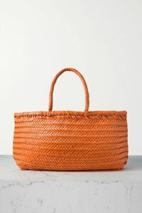 J.Crew - Floral-print Voile Midi Dress - Orange