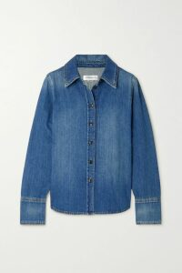 Yvonne S - Paneled Printed Cotton-voile Dress - Lilac