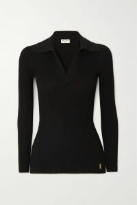 Acne Studios - Flint Face Appliquéd Color-block Cotton-jersey Sweatshirt - Light gray