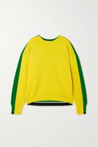 Saloni - Colette Floral-print Crepe De Chine Mini Dress - Green