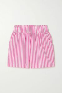 RIXO - Tammy Ruffled Floral-print Silk-georgette Dress - Yellow