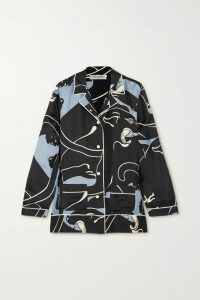 Preen by Thornton Bregazzi - Kennedy Asymmetric Ruffled Floral-print Georgette Dress - Yellow