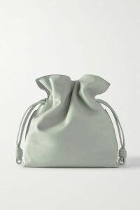Marni - Cotton-blend Chambray Midi Dress - Gray