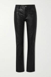 MUNTHE - Dark Floral-print Satin Shirt - Pink