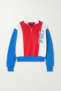 Isabel Marant - Roly Draped Printed Silk-blend Skirt - Black