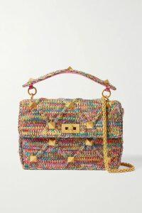 Miu Miu - Bow-embellished Cady Dress - Red