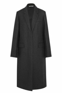 Stella McCartney - Oversized Split-side Wool Coat - Charcoal