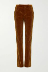 Heidi Klein - Azores Crochet-trimmed Cotton-crepon Shirt - Light blue