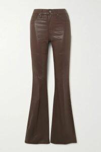 Ulla Johnson - Antoine Pussy-bow Floral-print Fil Coupé Silk-blend Chiffon Blouse - Black