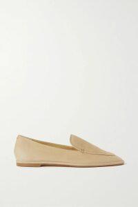 Ulla Johnson - Ida Ruffled Printed Metallic Cotton-blend Top - Beige