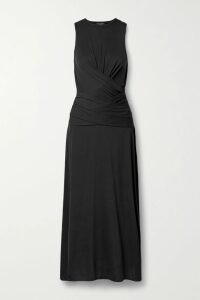 Isabel Marant Étoile - Mansel Flocked Cotton-blend Jersey Hoodie - White
