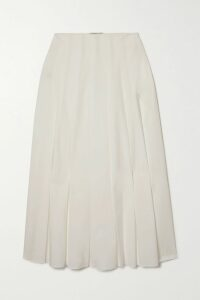 Etro - Belted Cotton-blend Jacquard Coat - Red