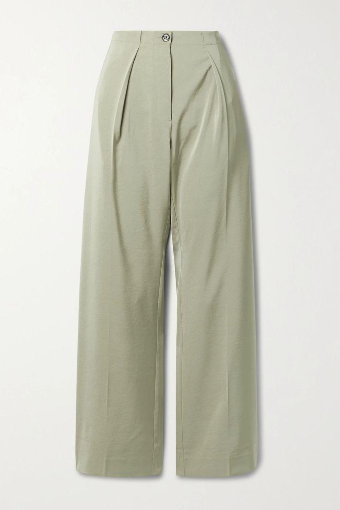 Fendi - Jacquard-knit Midi Skirt - Brown