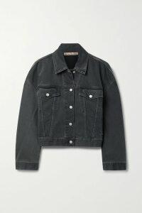 STAUD - Elio Off-the-shoulder Cotton-blend Midi Dress - White