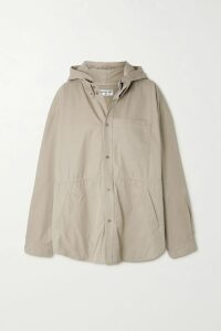 Etro - Printed Silk Crepe De Chine Wrap Dress - Beige