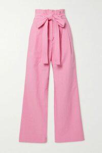 Ulla Johnson - Dani Ruffled Floral-print Fil Coupé Silk-blend Chiffon Mini Dress - Burgundy
