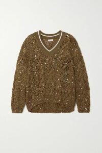 Prada - Plissé-crepe Midi Skirt - Black