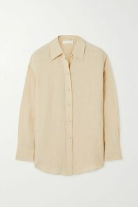 Giuliva Heritage Collection - Karen Herringbone Wool Blazer - Sand