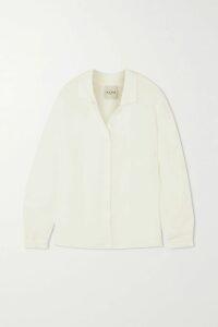 Balmain - Button-embellished Houndstooth Bouclé-tweed Mini Dress - Black