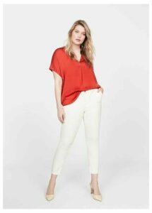 Studs sleeve blouse