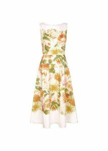 Dahlia Dress Ivory Multi