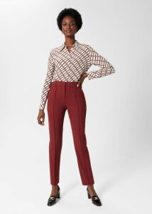 Sadie Silk Dress Yellow Pink