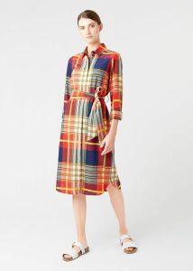 Tahlia Dress Navy Ivory
