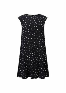 Catalina Dress Navy White