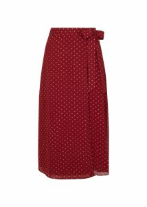 Julie Skirt Burgundy Ivory 16