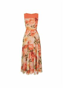 Carly Dress Orange Multi