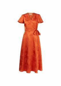 Eleanor Dress Orange 16