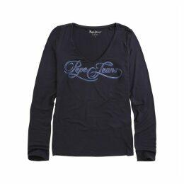 Marlène Printed Long-Sleeved T-Shirt