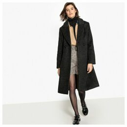 Tailored Wool Mix Coat