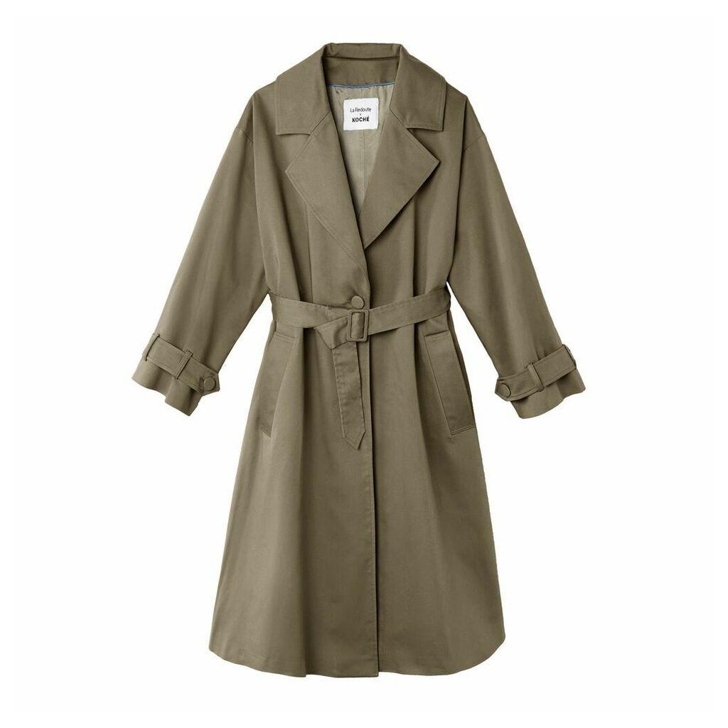 Long Oversize Trench Coat