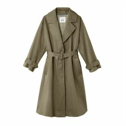 Long Oversize Trench Coat
