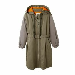 Long Oversize Hooded Parka